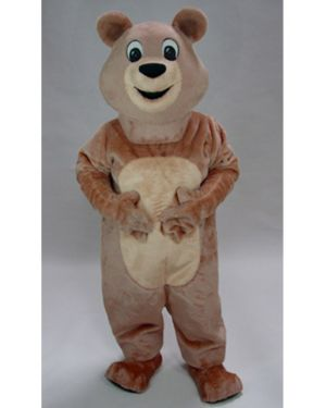 Adult Honey Bear Mascot Deluxe Costume