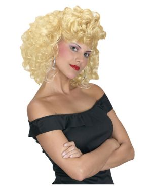 Cool 50s Girl Wig Adult