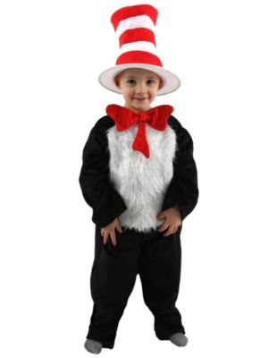 Cat In the Hat Toddler Dr. Seuss Costume Deluxe