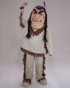 Adult Brave Native American Mascot Costume