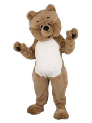 Adult Bear Mascot Costume