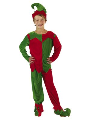 Child Elf Costume