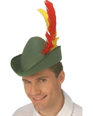 Deluxe Alpine Hat with Quill Adult
