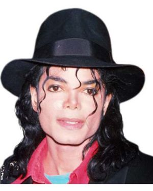Adult Michael Jackson Black Fedora Hat