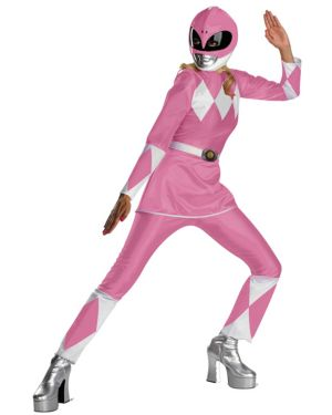 Pink Power Ranger Deluxe XL Womens Costume