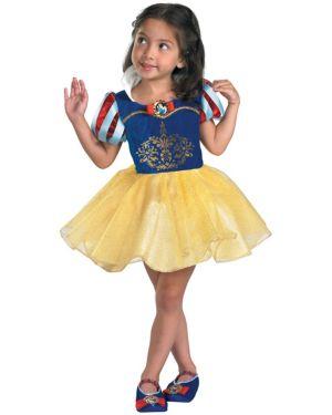 Toddler Ballerina Snow White Disney Costume