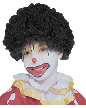 Child Black Afro Wig