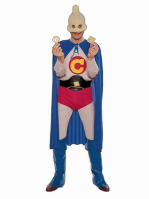 Captain Condom Costume for Adults