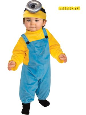 Toddler  Minion Stewart Costume