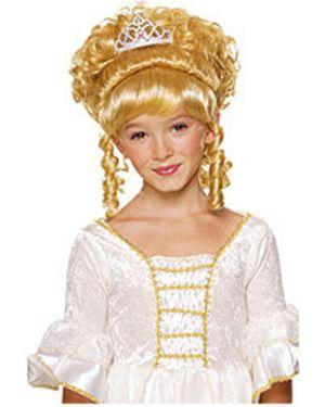 Princess Wig Blonde w/tiara