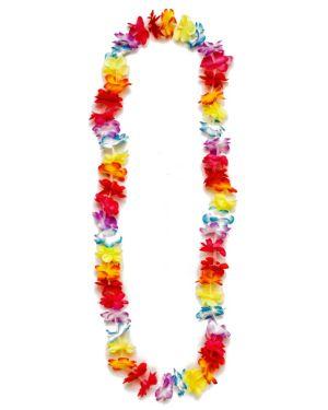 Multi Colored Hula Party Lei