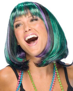 Mardi Gras Wig Adult