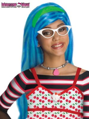 Child Monster High Ghoulia Yelps Wig