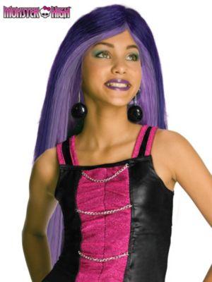 Child Monster High Spectra Vondergeist Wig