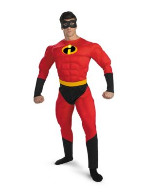 Mr. Incredible Muscle Costume for Adult