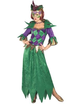 Womens Mardi Gras Madness Costume