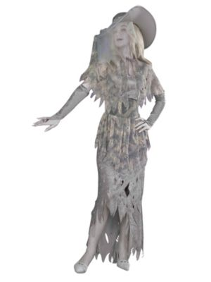 Ghostly Gal Costume for Adult