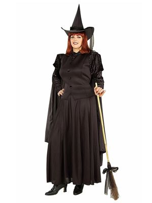 Classic Witch Womens Plus Costume