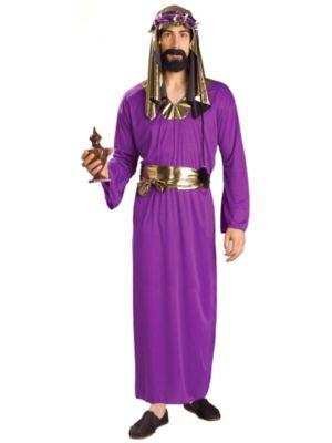 Purple Wisemen Costume for Adults