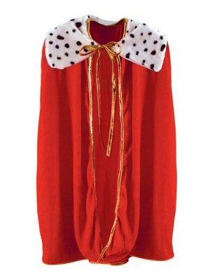 King Queen Robe Costume for Child