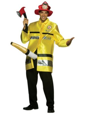 The Adult Fire Extinguisher Costume