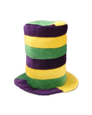 Mardi Gras Stovepipe Hat