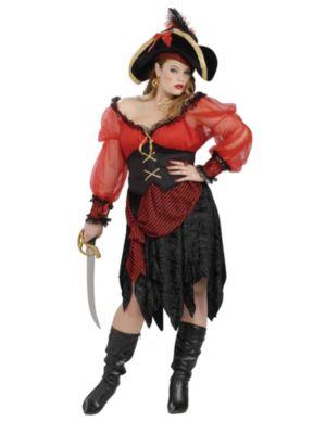 Adult Bucceneer Beauty Plus Costume