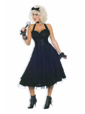 Adult 80s Material Girlie Costume