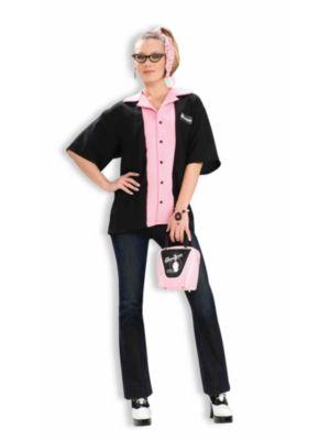 Adult Ladys Bowlers Shirt Costume