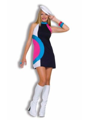 Mod Girl Costume for Teens