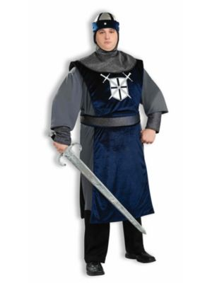 Plus Size Crusader Costume for Men