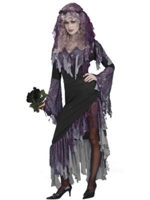 Halloween Zombie Costumes For Women Womens Zombie Bride Costume