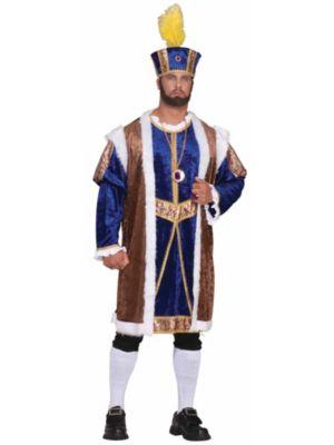 Henry Viii Deluxe Mens Plus Costume