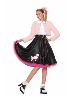 50s Sweetheart Womens Deluxe Poodle Set