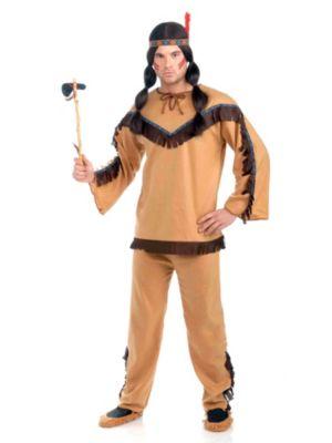 Brave Native American Mens Costume