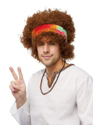 Hippie Afro Wig Adult