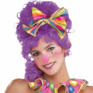 Circus Sweetie Clown Nose Hot Pink