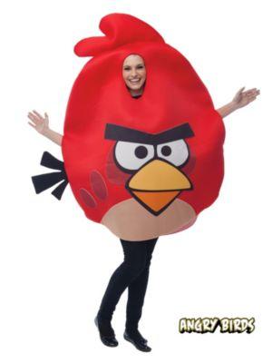 Adult Unisex Angry Birds Red Bird Costume