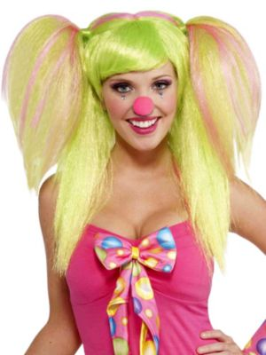 Adult Circus Sweetie Lollypop Lilly Wig