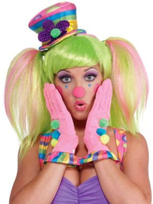 Circus Sweetie Ruffled Gloves