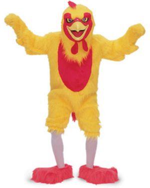 Adult Chicken Mascot Deluxe Costume