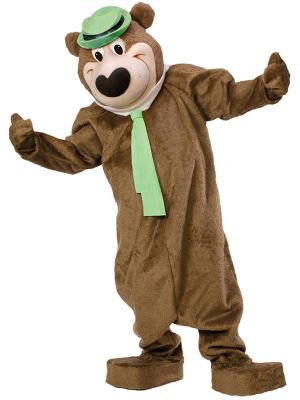 Mascot Yogi the Bear Costume