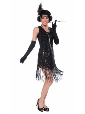 Adult Swingin' In Sequins Costume