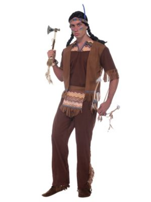 Adult Native American Brave Costume