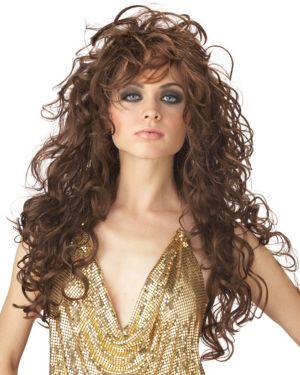 Adult Brown Seduction Wig