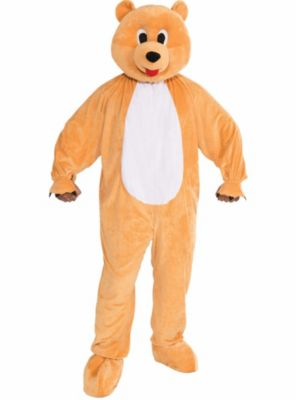 Adult Honey Bear Mascot Costume