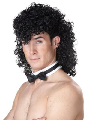 Women's Girl's Night Out Wig Black
