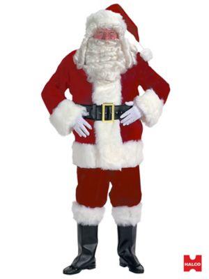 Professional Velvet Santa Suit XXL