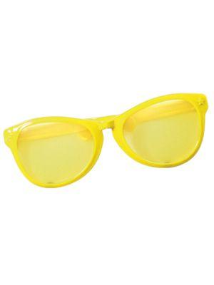 Yellow Oversized Glasses