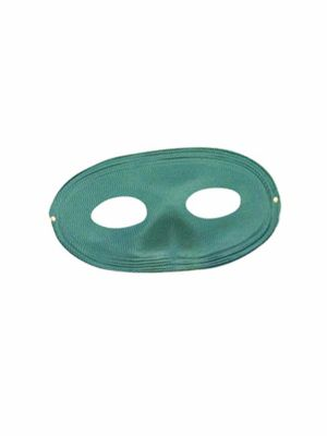Adult Green Domino Mask